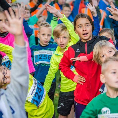 warming-up Kidsrun | Molenhoeks Makkie 2018